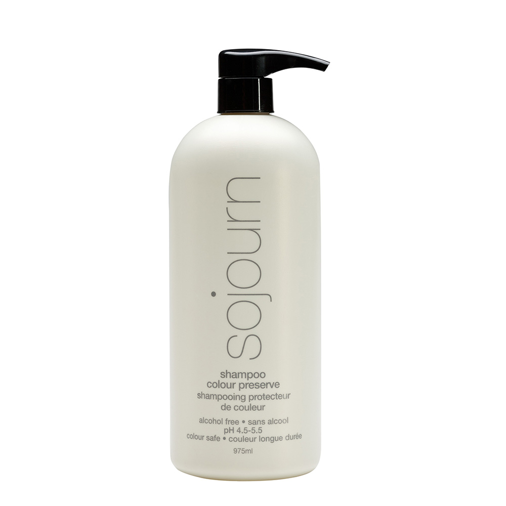 Shampoo Colour Preserve (liter)  Prevents Hair Color From Fading