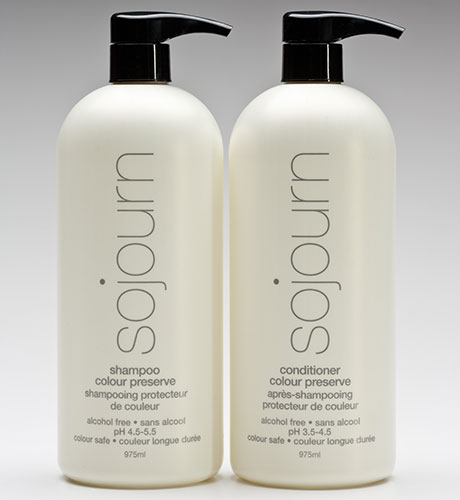 COLOUR SHAMPOO CONDITIONER LITER DUO