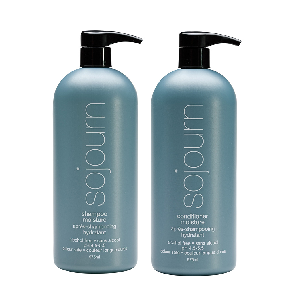 MOISTURE SHAMPOO CONDITIONER LITER DUO
