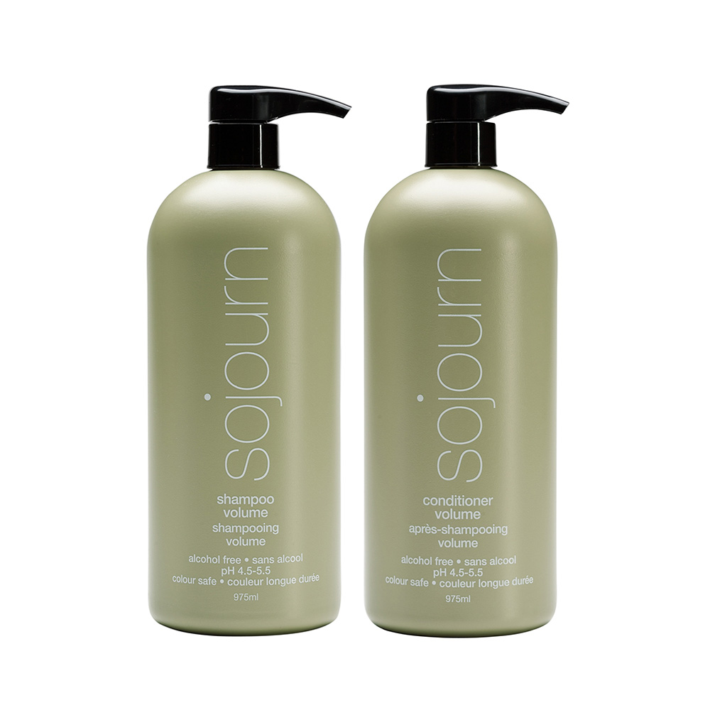 VOLUME SHAMPOO CONDITIONER LITER DUO